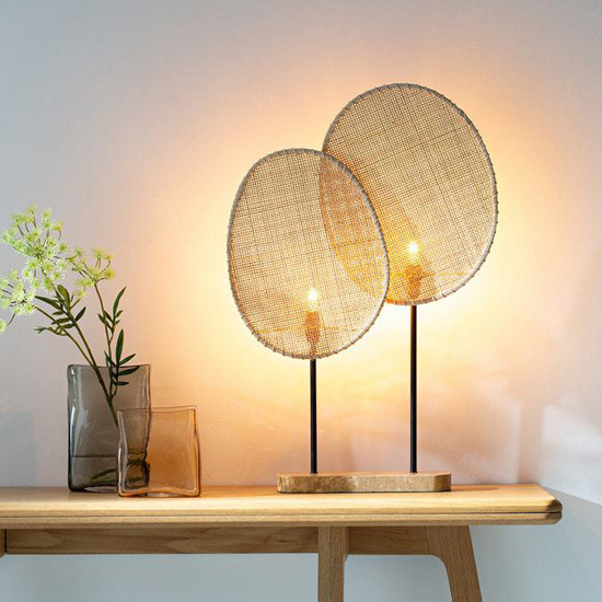 The Rattan Lamp - Natural And Trendy