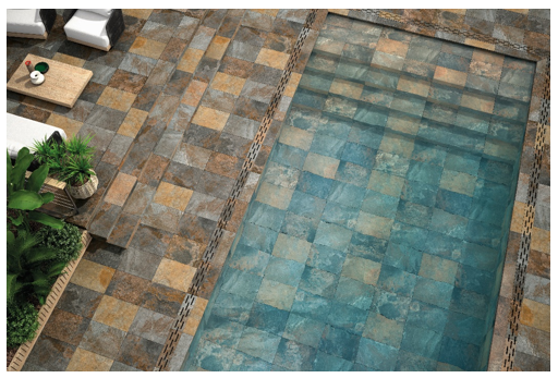 Inspiring Ideas To Transforms Your Garden, Terrace Or Pool With Ceramic Flooring And Tiles