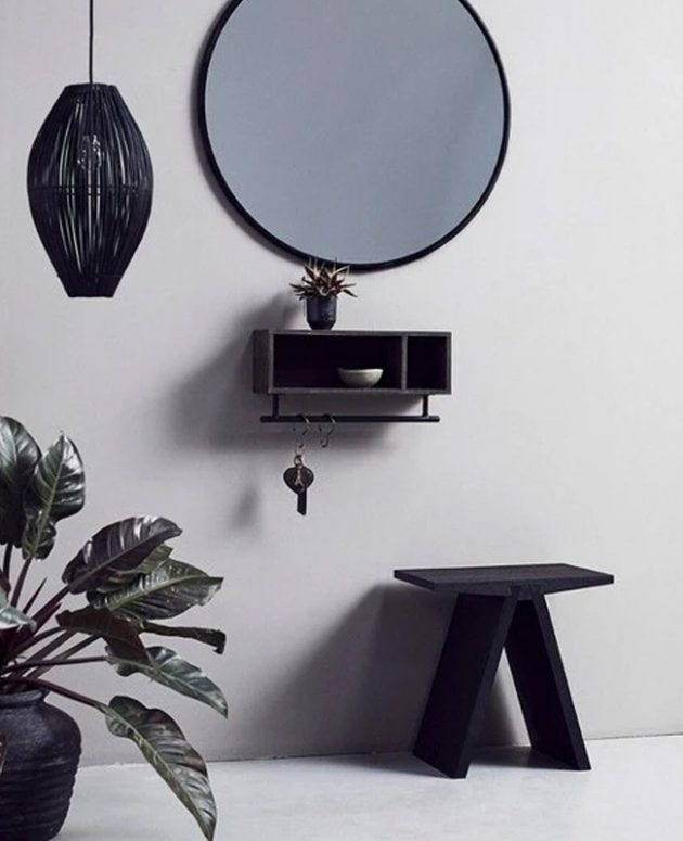 Pretty And Elegant Black Stools For Your Perfect Interior