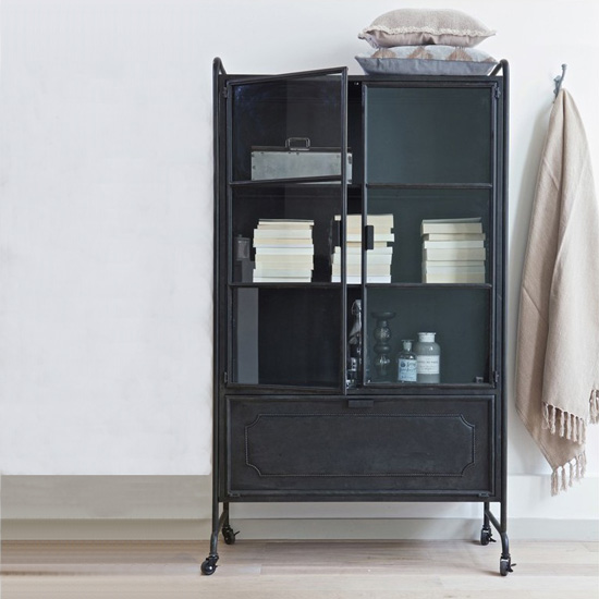 The Functional Industrial China Cabinet Could Be The Next Big Thing In Decor