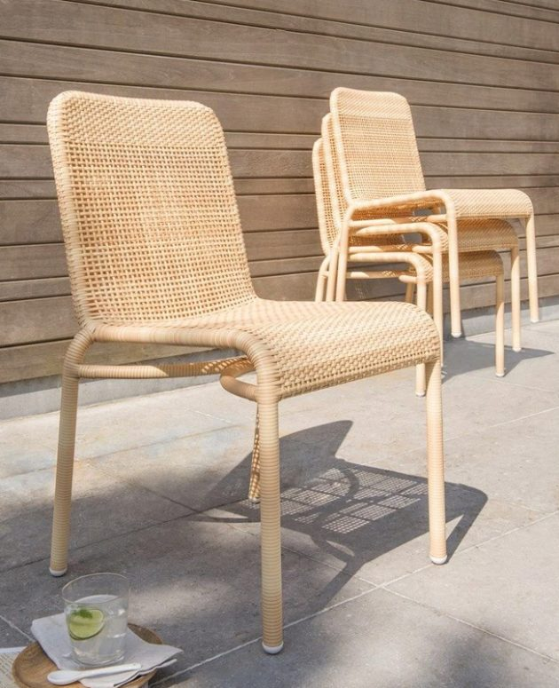 Natural Chairs For The Garden You'll Adore