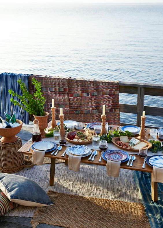 The Best Summer Dining Tables