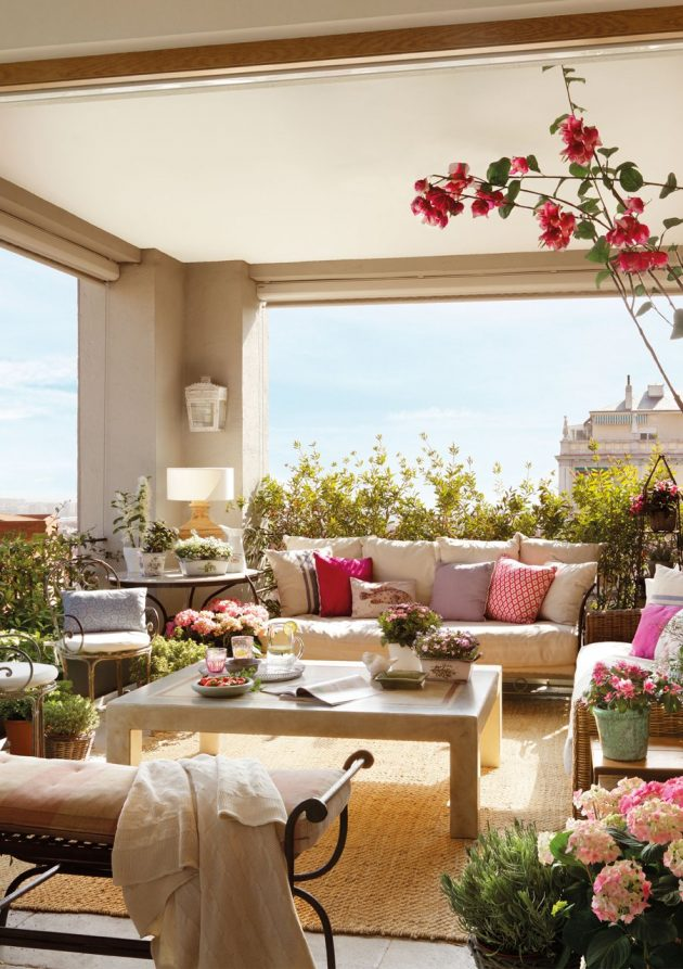 Small Balconies And Terraces That Simply Fairish For The Summer (Part II)