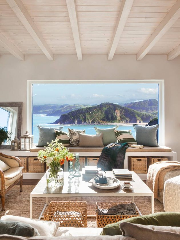 10 Rooms With Sea Views Full Of Ideas Of refreshing Decoration (Part I)