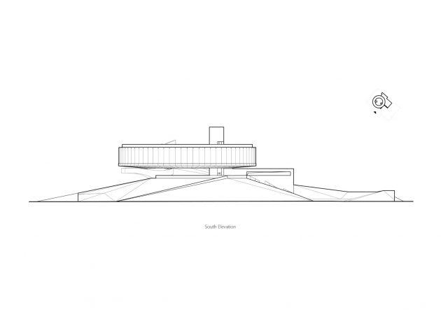 City Crown - Dragon Lake Public Art Center by Studio A+ in Zhengzhou, China