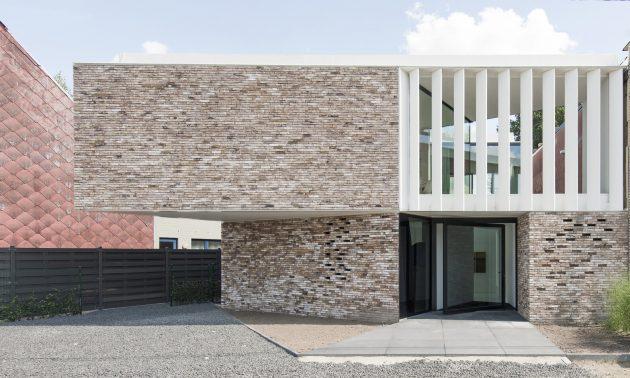House K by GRAUX & BAEYENS Architecten in Buggenhout, Belgium