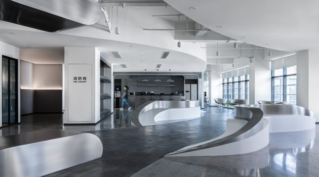 Riparia – Golong Offices by PINES ARCH in Hangzhou, China