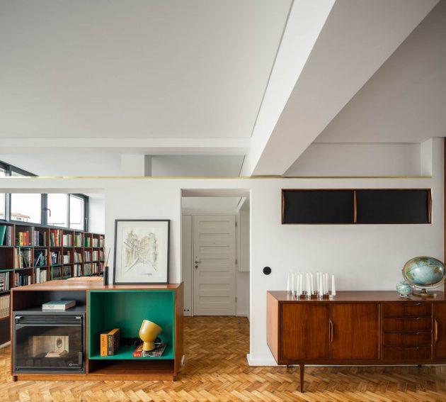 Santos Pousada Apartment by Hinterland Architecture Studio in Porto, Portugal