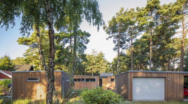Villa Ljung by Johan Sundberg in Hollviken, Sweden