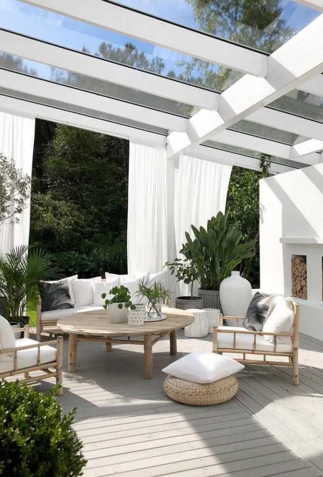 Advantages Of Having a Glass Pergola And Tons Of Inspiration