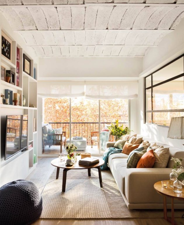 The Perfect Colors For Small Floors