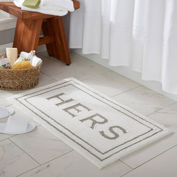 The Most Trendy Rugs For Your Bathroom
