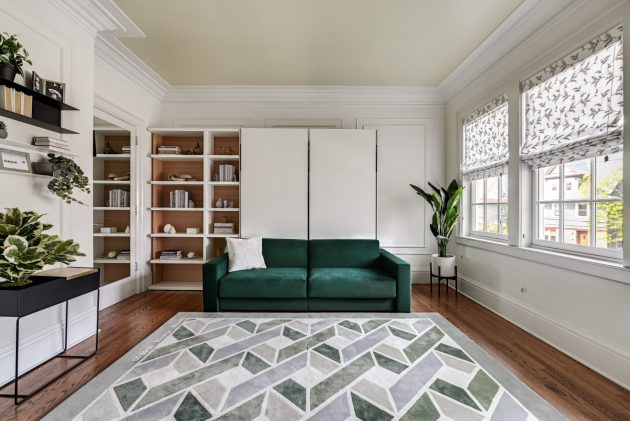 12-Bedroom Yonkers - NY Home Maximized for Guests Using Resource Furniture