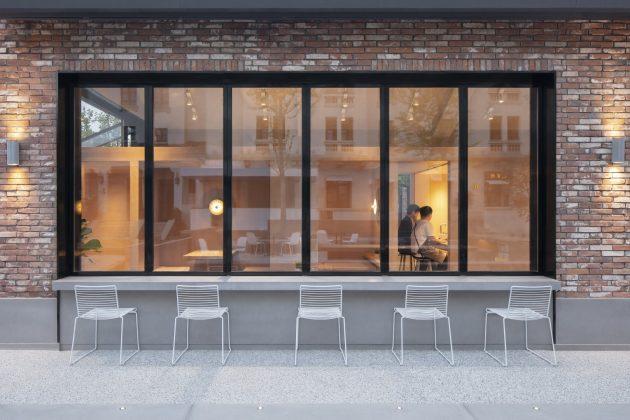 1402  Coffee Shop in Aranya by B.L.U.E. Architecture Studio in Changli, China