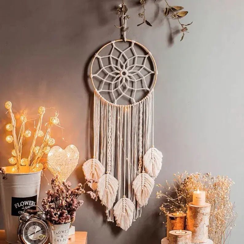 15 Eye-Catching Macramé Wall Hanging Decorations You Will Adore