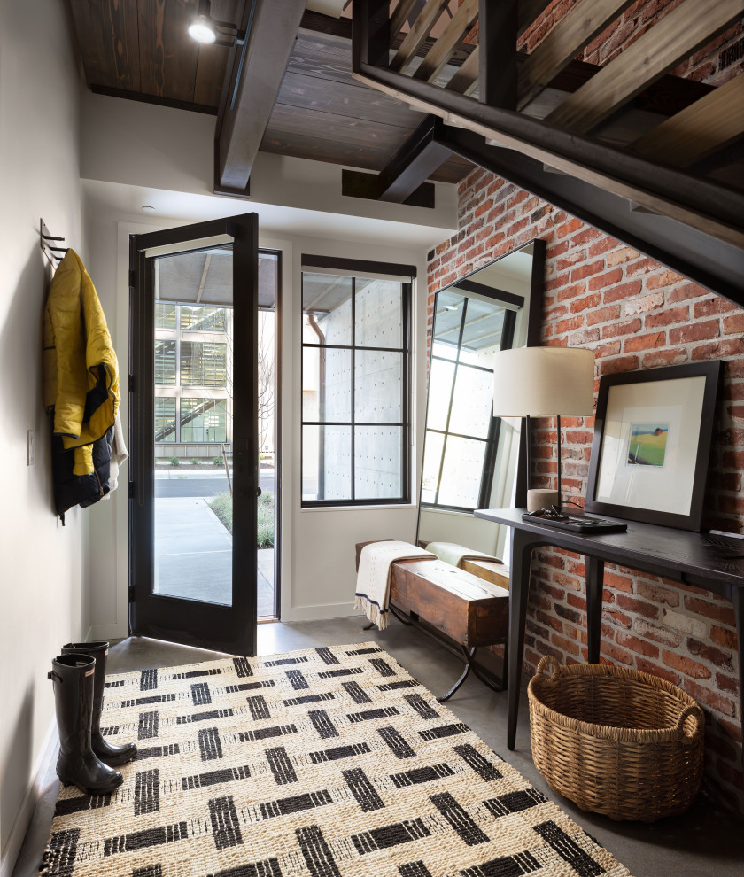 15 Stunning Industrial Foyer Designs That You Are Going To Enjoy