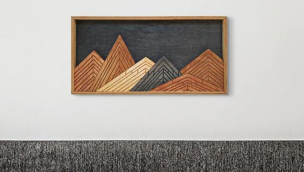 15 Wonderful Modern Wood Wall Art Designs That Will Amaze You
