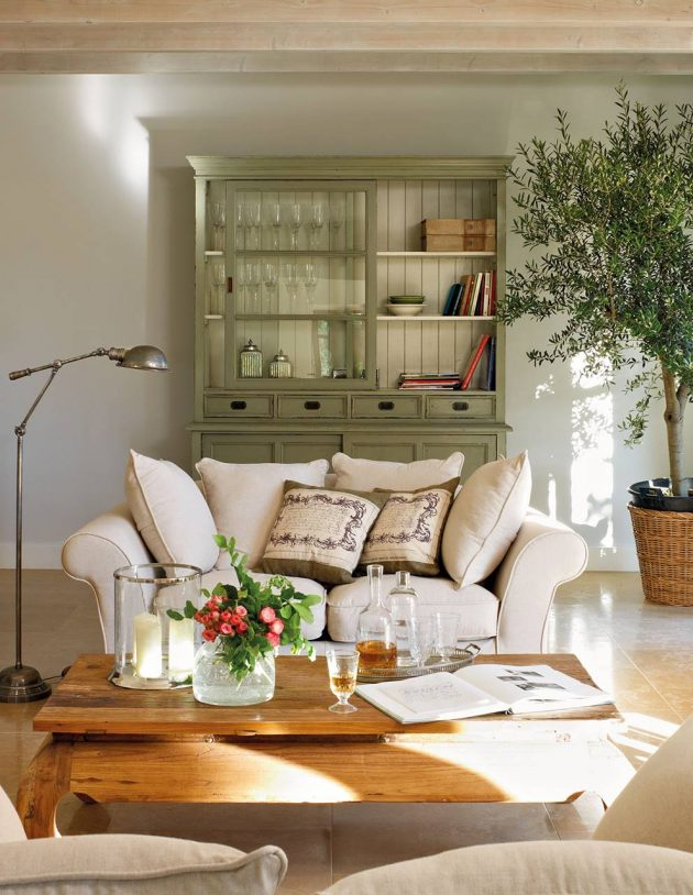 The Best Green Living Rooms You'll Absolutely Fall For