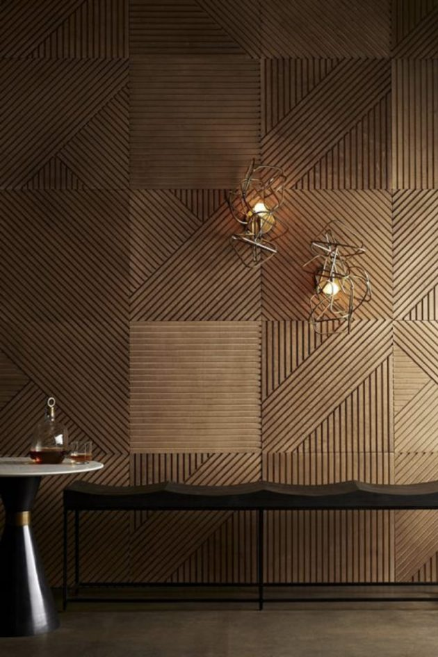 What Solutions To Dress The Wooden Walls In Your Room