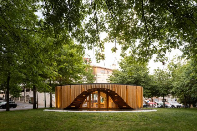Alto Tamega Tourism Info Point by AND-RE Arquitectura in Chaves, Portugal