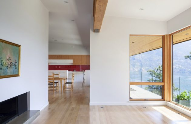 Lefebvre-Smyth Residence by CEI Architecture in Summerland, Canada