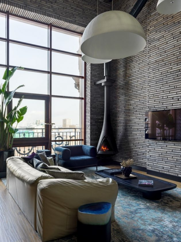 Manhattan House by INRE Design in Moscow, Russia