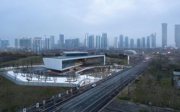 Tianfu Stage - Chengdu Merchants Urban Planning Exhibition Hall in the New District of Tianfu