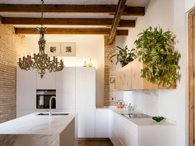 A Classic Renovated Apartment With Lots Of Style, Warmth And Light