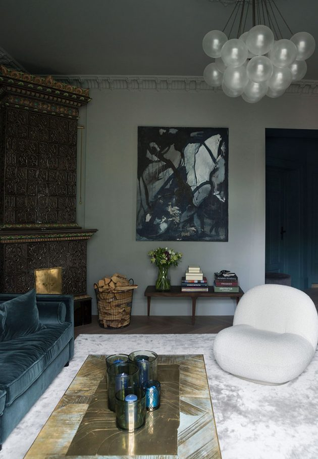 Home Decor With Dark Colors