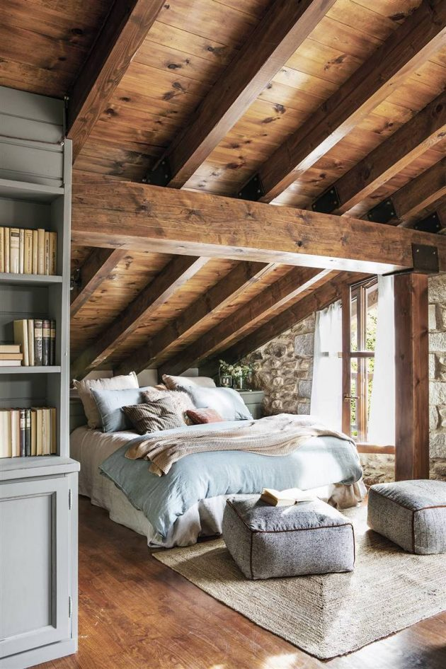 Invite That Mountain Warmth Into Your Home With Rustic Decoration