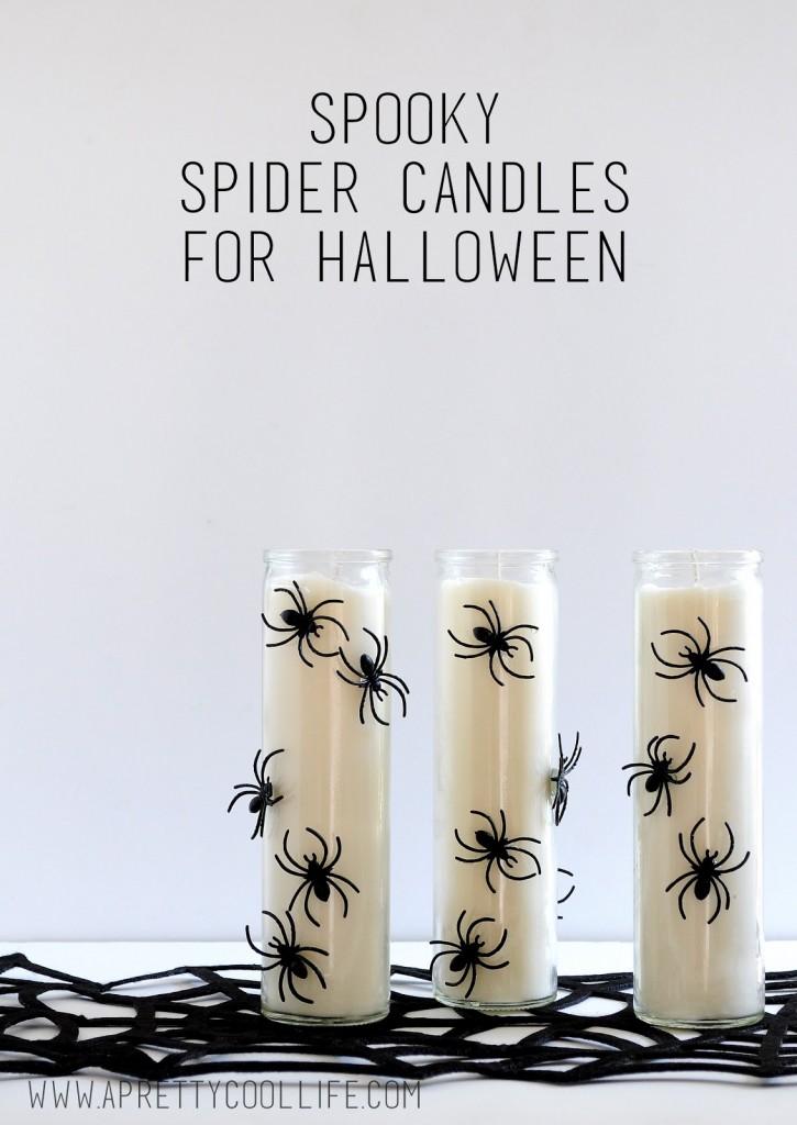 15 Hair-Raising DIY Halloween Candle Ideas With A Scary Appearance