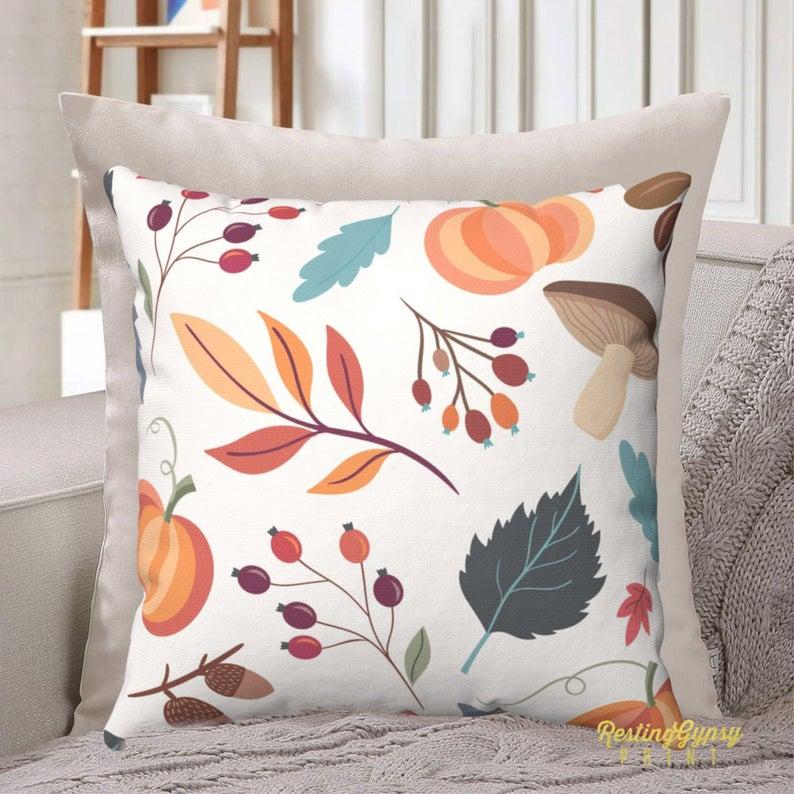 16 Enchanting Fall Pillow Cover Designs You'll Love