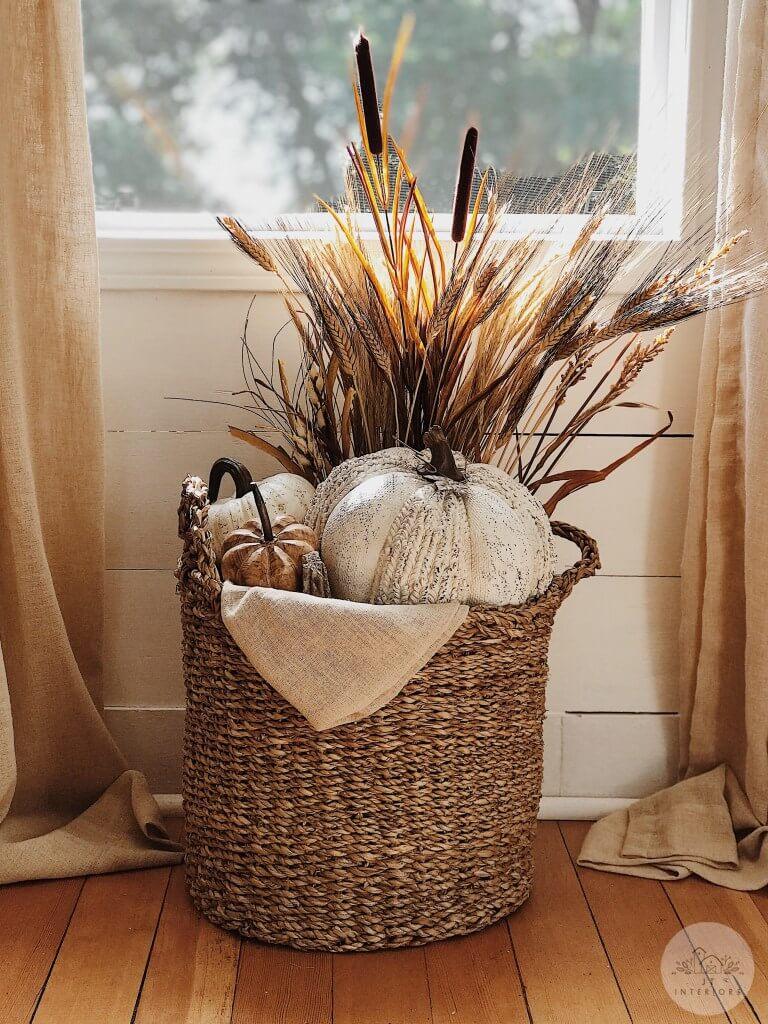 16 Wonderfully Charming DIY Fall Flower Arrangement Ideas
