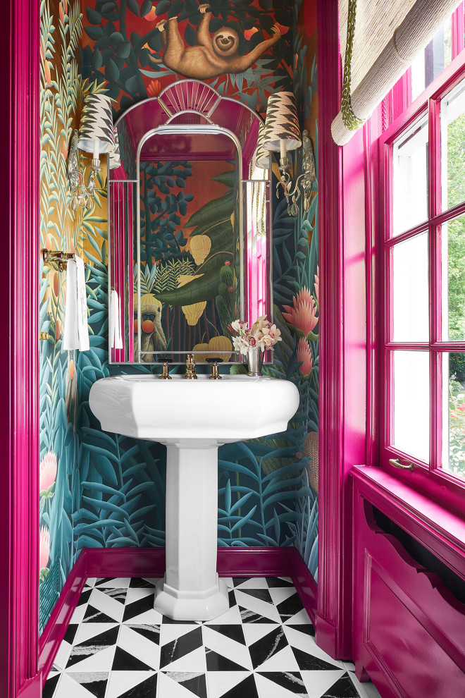 17 Chic Eclectic Powder Room Designs That Will Thrill You
