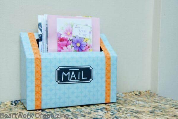 17 Practical DIY Mail Organizer Ideas You Can Make In No Time