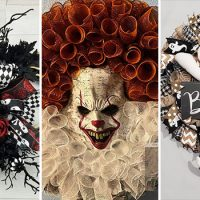 17 Spooky Halloween Wreath Designs To Get You Ready