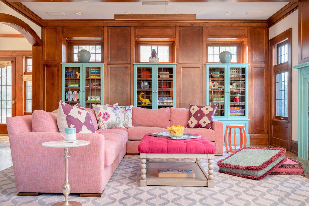 18 Charming Eclectic Living Room Designs That Pop