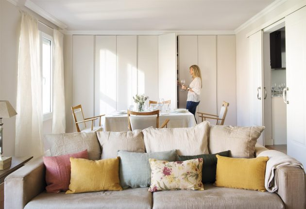 Barcelona Home With Thousands Closets And A Lot Of Storage Space