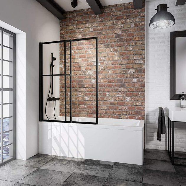 Shower Enclosures In Black For A Dream Bathroom