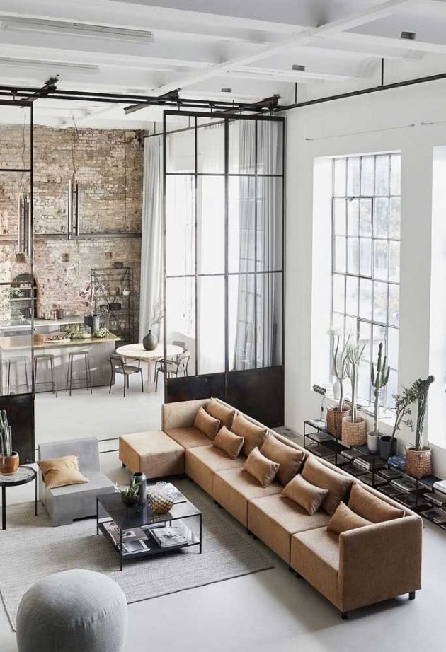 How To Perfectly Decorate Your Industrial Loft