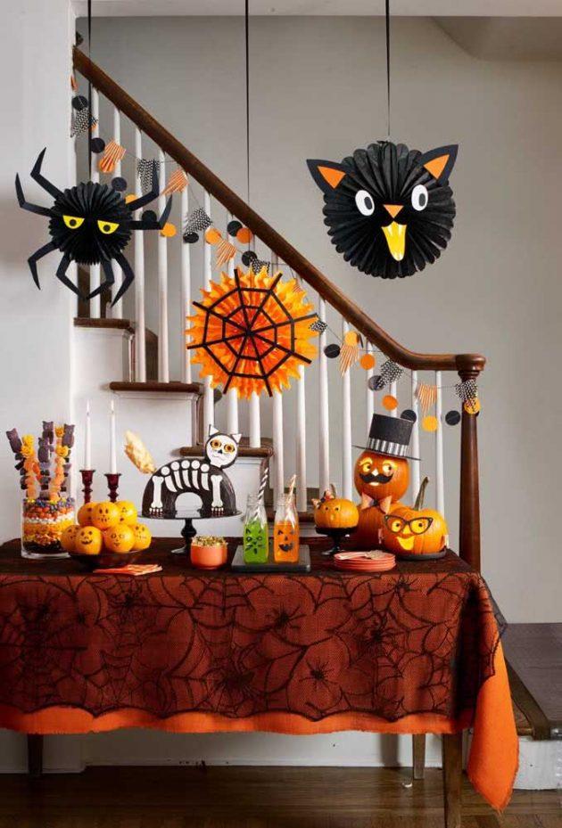 How To Make Halloween Pumpkin