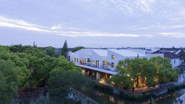 BAN Villa by B.L.U.E. Architecture Studio in Jijiadun Village, China