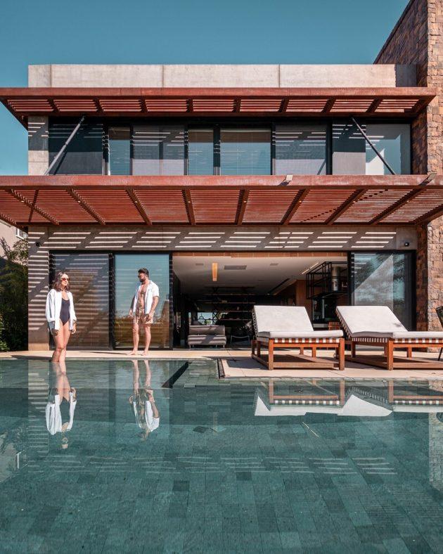 F35 House by Projetebem Arquitetura in Eldorado do Sul, Brazil
