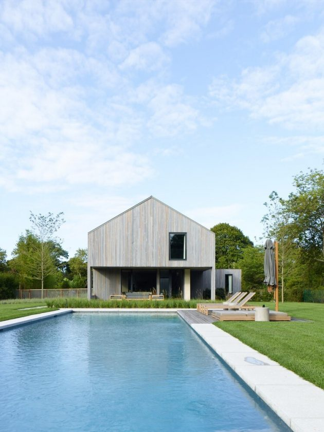 House in the Lanes by MB Architecture in Amagansett, New York