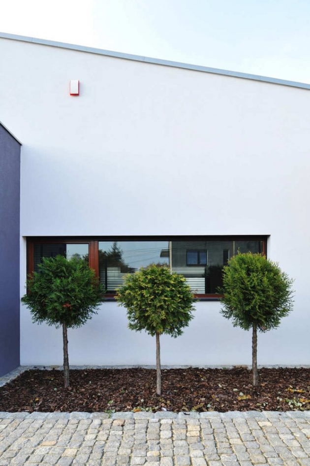 M House by RS+ Robert Skitek in Tychy, Poland