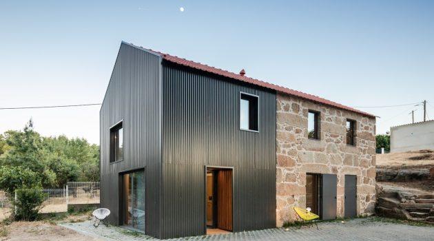 MCR2 House by Filipe Pina + Maria Ines Costa in Belmonte, Portugal