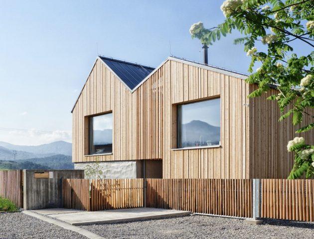 Mountain House by Archholiks in Mosovce, Slovakia