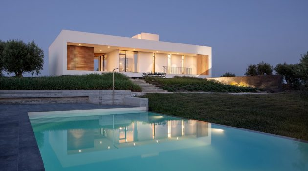 Villa Belluccelli by Studio Nuy van Noort in Noto, Italy