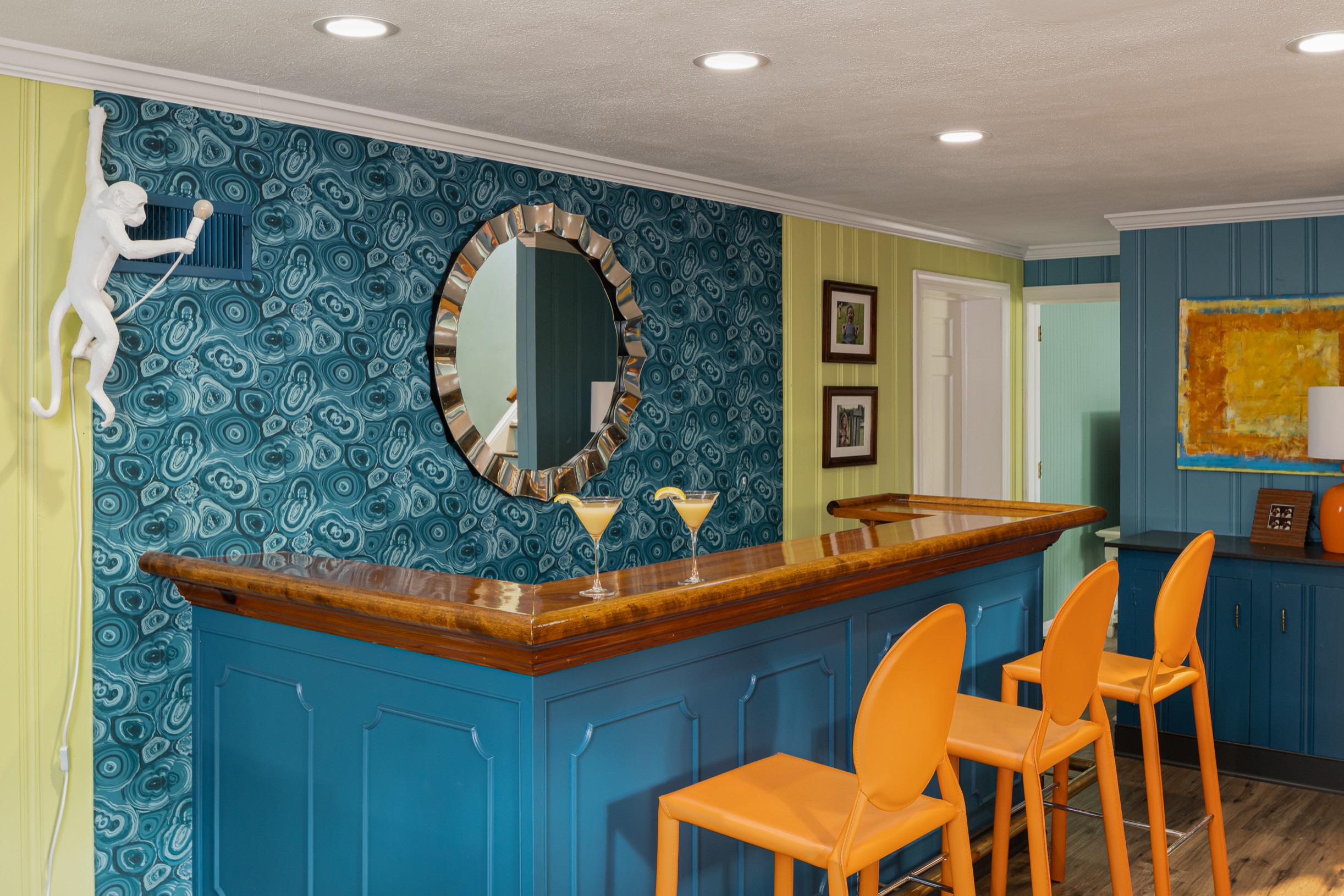 15 Stunning Eclectic Home Bar Designs You Will Envy