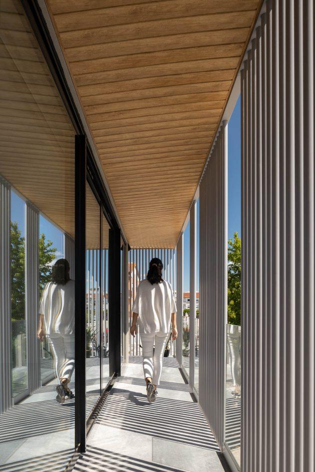 Bloco Habitacional I by Carolina Freitas Arquitectura in Aveiro, Portgual